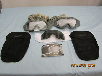NEW Two Pair ESS G.I. Profile NVG Goggles Foliage Green NEW APEL APPROVED
