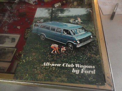 Rare 1968 All-New Club Wagons by Ford Brochure