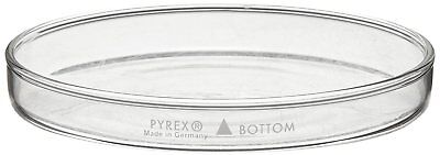 Corning Pyrex Borosilicate Glass Petri Dish with Cover (Pack of 12)