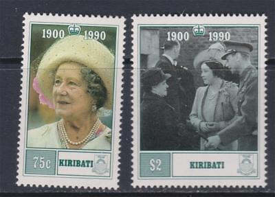 K27 - Kiribati Stamps 1990 90Th Birthday Of The Queen Mother Mnh