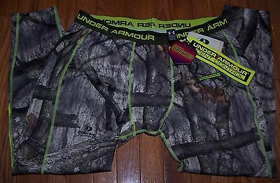 Mens Under Armour Evo Scent Control Hunting Base Layer Pant Leggings Camo Xl Nwt