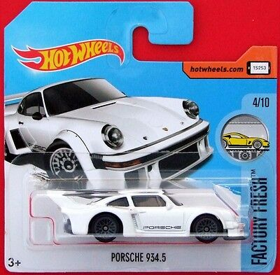 Hot Wheels 2017  PORSCHE 934.5 153/365 NEU&OVP