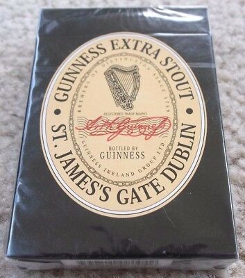 GUINNESS EXTRA STOUT POSTER PLAYING CARD DECK - NEW! - Ireland