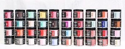 NUGENESIS Nail Color Dip Dipping Powder GLITTER NU83- NU123 2oz Jar ~ U CHOOSE!