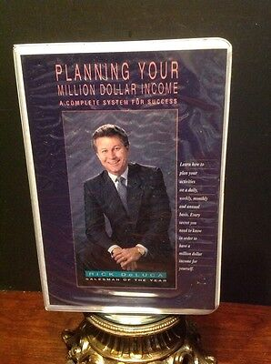 "Rick Deluca Audio Cassette Set ""Planning Your Million Dollar Income"" Real Estate"