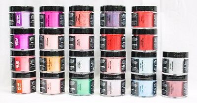 NUGENESIS Nail Color Dip Dipping Powder GLITTER NU164- NU186 2oz Jar ~ U CHOOSE!