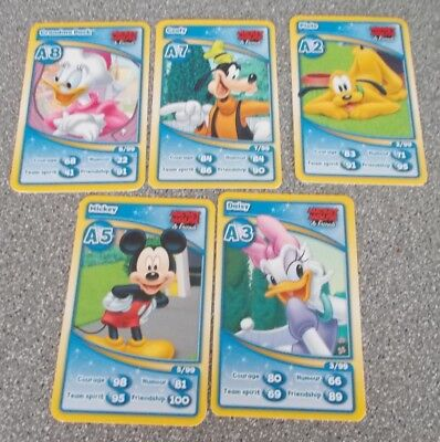 Morrisons 20th Disneyland Paris Anniversary Collection Cards - A2 A3  A5 A7 A8
