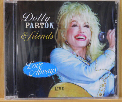 Dolly Parton & Friends Love Always Live From Austin TX '01 (CD, 2008 IMC) Sealed