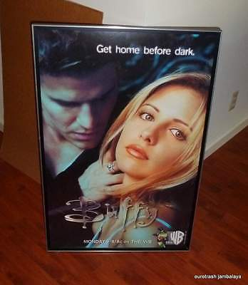 Buffy The Vampire Slayer Promotional Poster WB 1997 TV Show