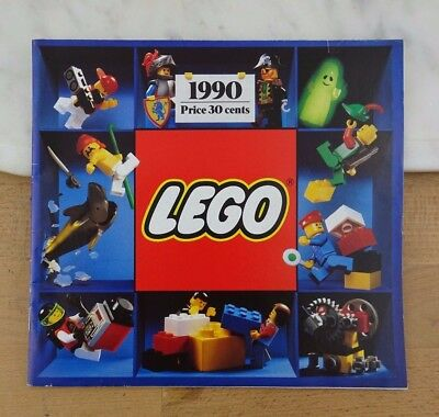 Vintage LEGO 1990 Catalogue / Price Guide / Product Advertising Book