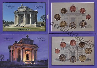 Irlanda Ireland Serie Euro Set 2003 The Casino, Marino  Fdc