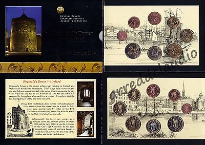 Irlanda Ireland Serie Euro Set 2004 Reginald's Tower Waterford  Fdc