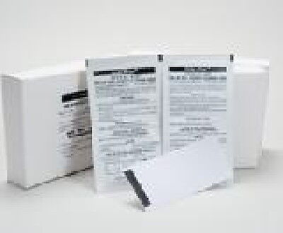 Dollar Bill Validator Pre-Saturated Cleaning Cards 25 Count