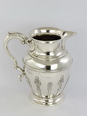 Large 800ml VICTORIAN SILVER PITCHER, London 1898 water, Pimms or milk jug 552g