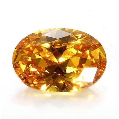 10 x 14mm Gem Oval Shape Yellow Sapphire Natural Loose Gemstone Jewelry Gifts