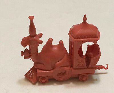 R&l Cereal Toy 1969 ~ Crazy Camel Train ~ Engine Camel, Complete! Brick Red