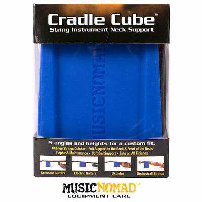 Music Nomad Cradle Cube Guitar Neck Support to Repair String Instuments NM206