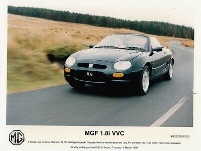 MGF 1.8i VVC PERIOD COLOUR PHOTOGRAPH.