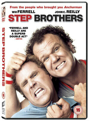 Step Brothers DVD (2009) Will Ferrell, McKay (DIR) cert 15 Fast and FREE P & P