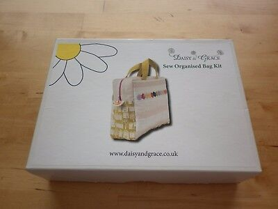 Daisy & Grace Turquoise  'Sew Organised Bag' Sewing Kit - NEW IN BOX - RRP £45