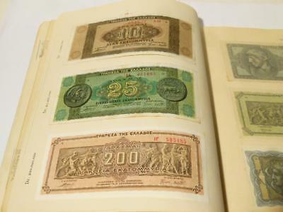 19 Bank Notes Historical Financial Facts WWII Breakdown of Greece 1941-44
