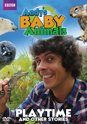 Andy's Baby Animals: Playtime and Other Stories DVD (2017) Andy Day ***NEW***