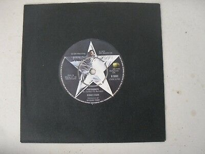 "Ringo Starr The Beatles 7"" Single B/s * Photograph *"