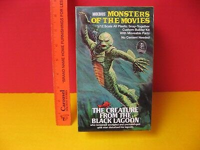 2014 Moebius Aurora 1/12 Monsters Of The Movies Creature From The Black  Lagoon