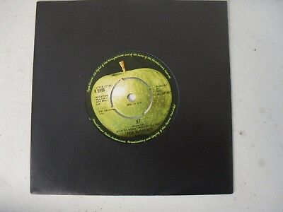 "PAUL McCARTNEY & WINGS THE BEATLES 7"" SINGLE B/S * JET / LET ME ROLL IT *"