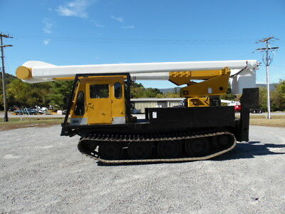 Teco 55' Boom/bucket Mtd On Nodwell Fn60 Track Machine Forestry Arborist