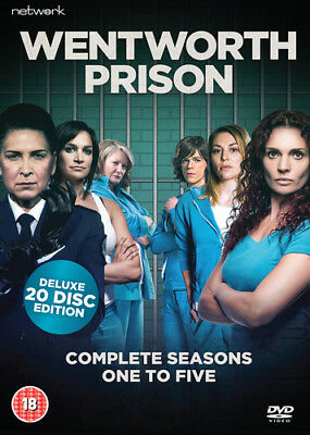 Wentworth Prison: Season One to Five DVD (2017) Kate Atkinson ***NEW***