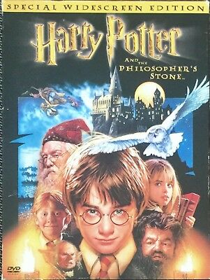 Harry Potter & The Philosophers Stone Official AMERICAN DVD (Free UK Post)
