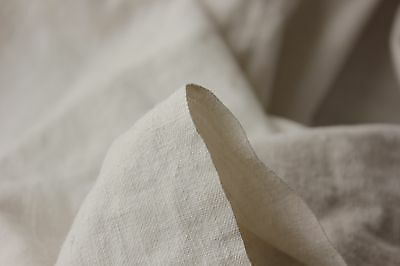 Antique French linen sheet old linen 73X98 metis  material WASHED