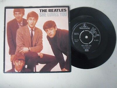 "The Beatles 7"" Single P/s * She Loves You / I'll Get You *"
