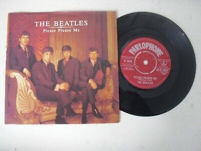 "The Beatles 7"" Single P/s * Please Please Me / Ask Me Why *"