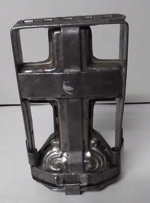 Very Old Wonderful Easter Cross Chocolate Candy Mold