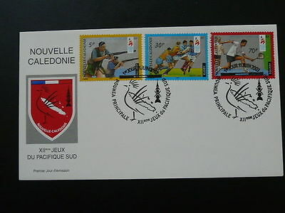 rugby tennis shooting FDC New Caledonia 60736