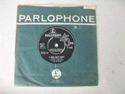 "The Beatles 7"" Single C/s * A Hard Day's Night / Things We Said Today *"