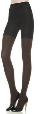 71b5317bc9dec1 SPANX Star Power Center-Stage Reversible Shaping Tights - Backdrop Black /Brown