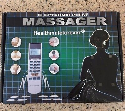 HealthMateForever Electronic Massage High-Frequency Pain Relief Body Aches new