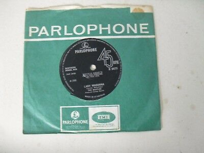 "The Beatles Solid Center 7"" Single C/s * Lady Madonna / The Inner Light *"