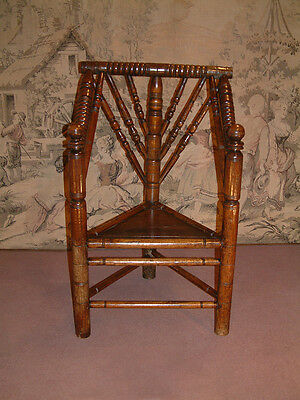 Mid 17th Century Oak Turners chair dating from c 1650.