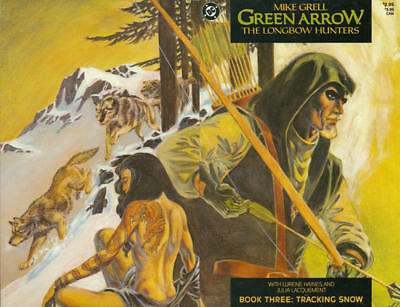 GREEN ARROW THE LONG BOW HUNTERS #3 VF/NM, Mike Grell, DC Comics 1987
