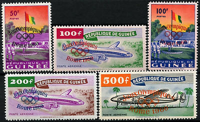 Guinea 1960 SG#248-252 Olympic Games MNH Set Cat £95 #D58329