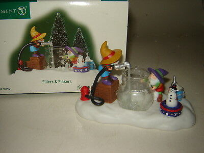 Dept 56 North Pole Accessory - Fillers & Flakers
