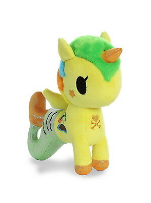 Aurora World Tokidoki Mermicorno Basic Plush Figure - Tropica