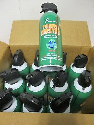 (12) Skillcraft Aerosol Dust Remover, 16 oz. For Electronics & Office Equipment