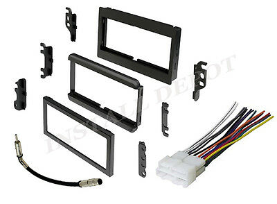 complete radio stereo installation dash kit plus wire harness