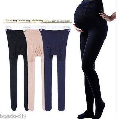 Plus size Pregnant Women Adjustable Elastic High Waist Maternity Pants Leggings