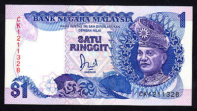 Malaysia 1 Ringgit  P. 27a UNC Note